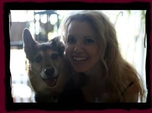 Donna Novak & her dog Zuko